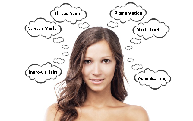 Skin Imperfections - Skin Damage Repair