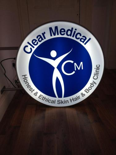 Clear Medical lightbox